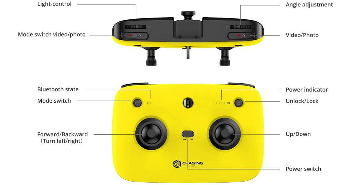 Gladius Mini. Конструкция и функционал пульта управления