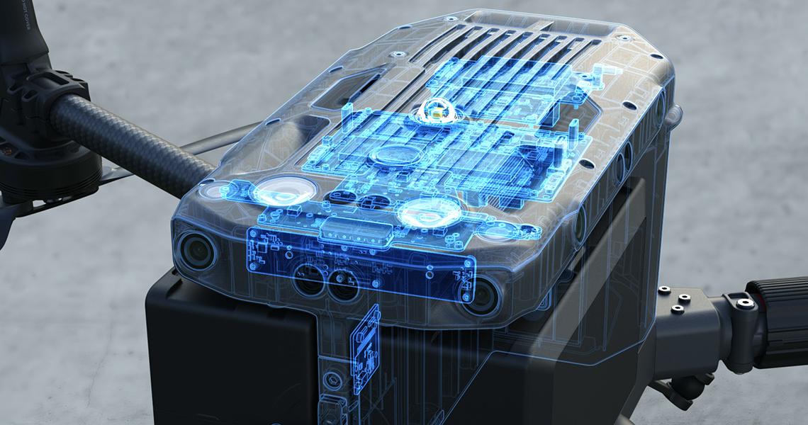 Matrice 300 RTK. Система резервирования для повышения безопасности