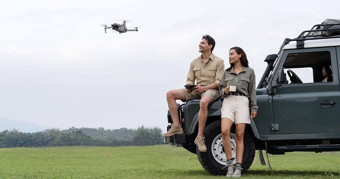 Mavic Air 2. Новые возможности съемки с помощью Mavic Air 2