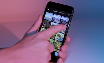 DJI Osmo Pocket. Расширенный редактор изображений