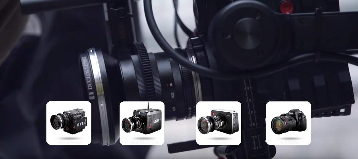 Ronin-MX. Поддержка профессиональных камер