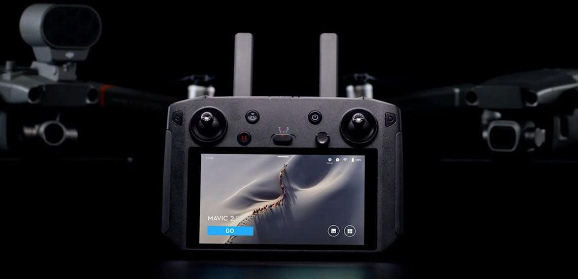 DJI Smart Controller. Обеспечивает мобильность и эффективность