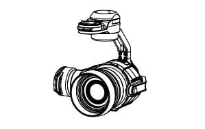 Камера и подвес