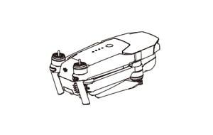 Защита подвеса к квадрокоптеру mavic шнур пульта д/у для дрона mavic
