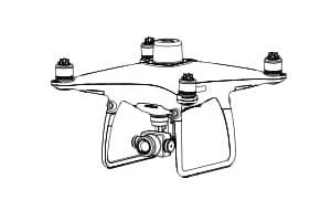 Квадрокоптер Phantom 4 RTK