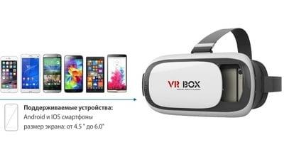 VR Box 2.0 - поддерживаемые устройства