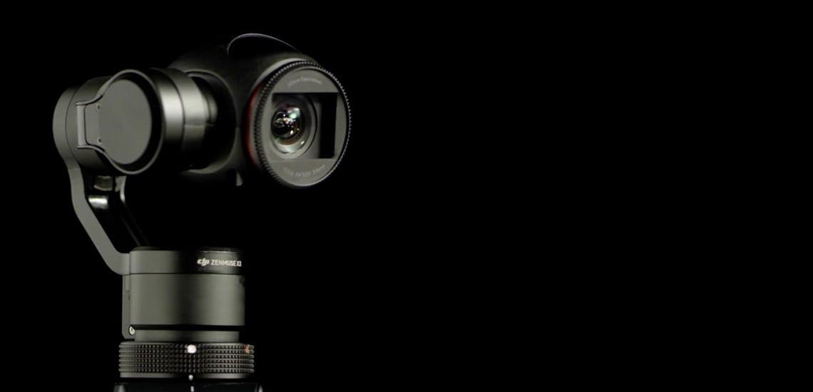 Zenmuse x3 Zoom. Видео 4K с 7-кратным зумированием.