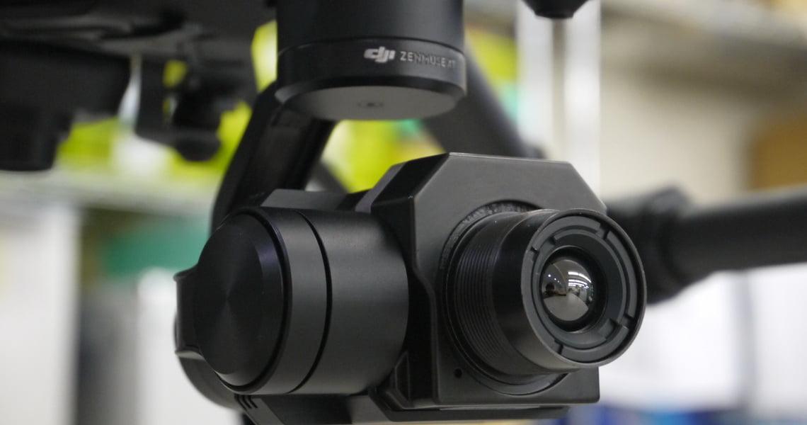 Подвес Zenmuse XT ZXTA19SP с тепловизионной камерой FLIR