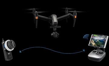 С помощью технологий и устройств DJI вы получаете полный контроль над камерой