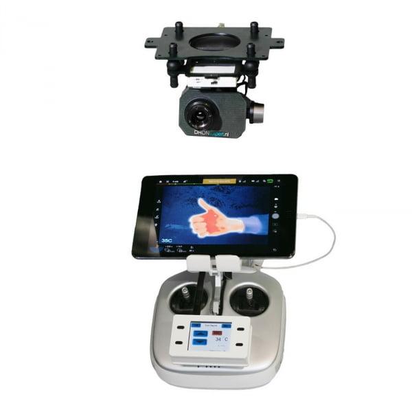 Комплект T07 профессиональный: тепловизионный подвес и камера FLIR TAU2 для DJI Inspire 1