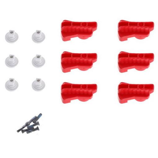 Комплект красных поворотных зажимов для Matrice 600 (Part 22)