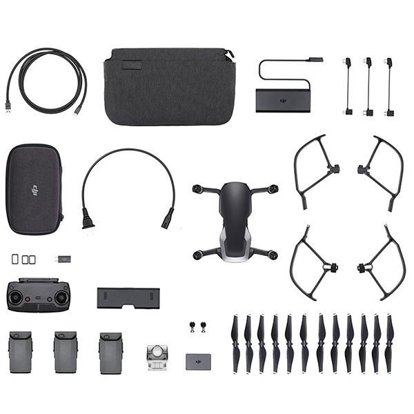 Mavic Air Fly More Combo (Onyx Black, черный)