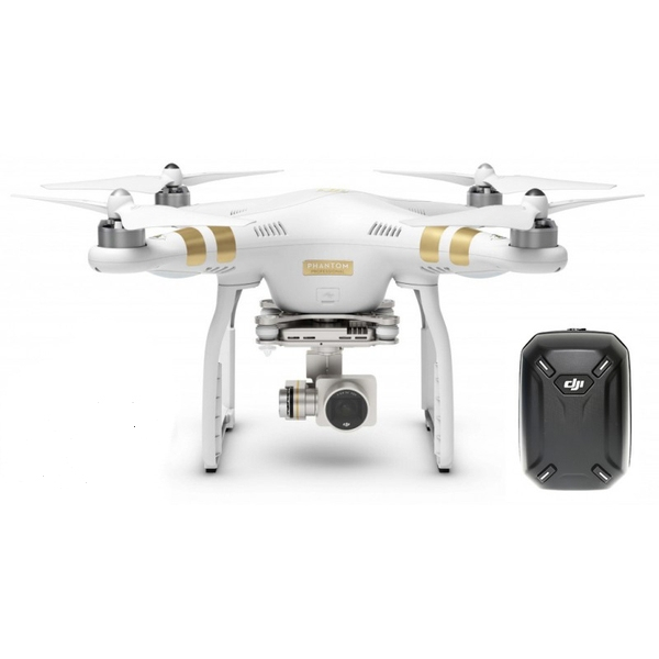 Квадрокоптер DJI Phantom 3 Professional + рюкзак DJI Hardshell Backpack