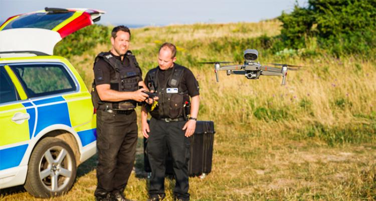 Дроны на службе полиции и спасателей