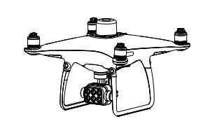 Квадрокоптер Phantom 4 Multispectral